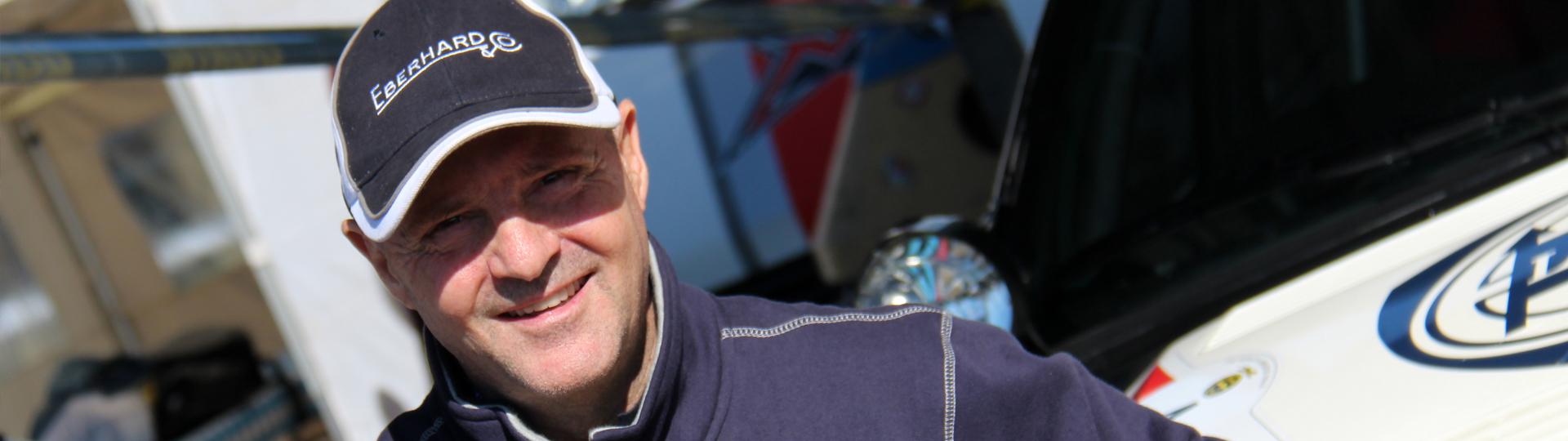 MIKI BIASION, CAMPIONE RALLY, È IL NUOVO AMBASSADOR <br>EBERHARD & CO.